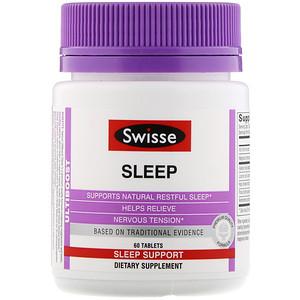Свисс, Ultiboost, Sleep, 60 Tablets отзывы