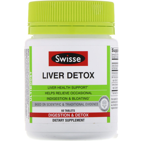 Ultiboost, Liver Detox, 60 Tablets
