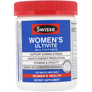 Свисс, Women's Ultivite Multivitamin, 120 Tablets отзывы покупателей