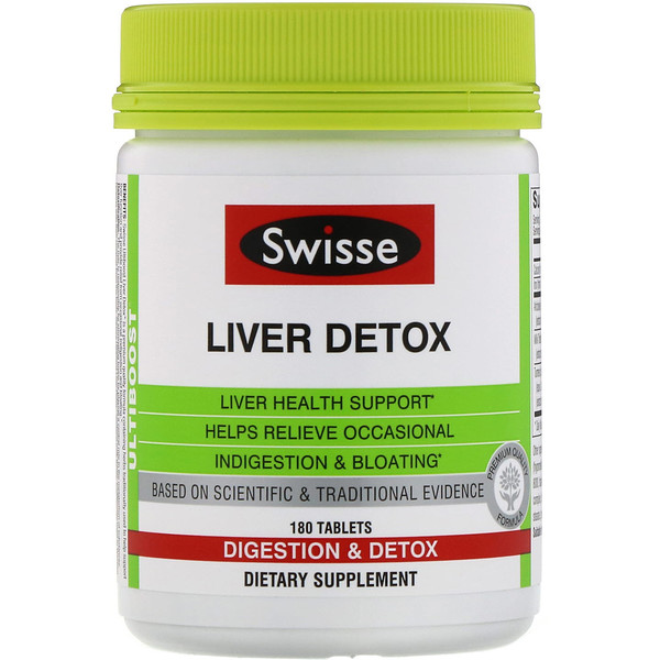 Ultiboost, Liver Detox, 180 Tablets