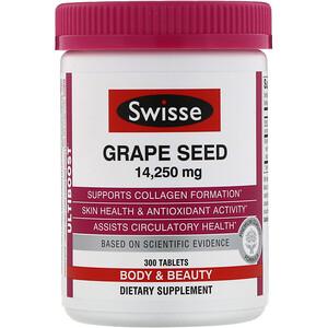 Свисс, Ultiboost, Grape Seed, 14,250 mg, 300 Tablets отзывы покупателей