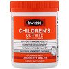 Swisse, Children's Ultivite Multivitamin, Natural Orange Flavor, 120 Chewable Tablets