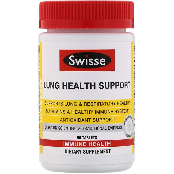 Swisse, Ultiboost, Lung Health Support, 90 Tablets