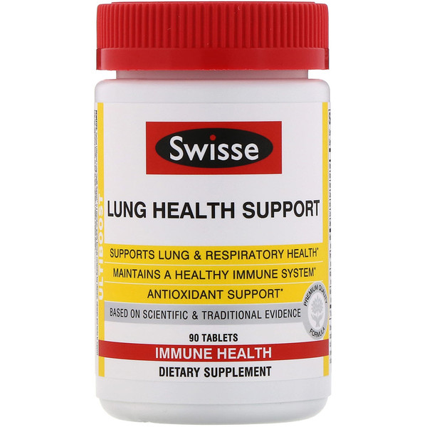 Ultiboost, Lung Health Support, 90 Tablets