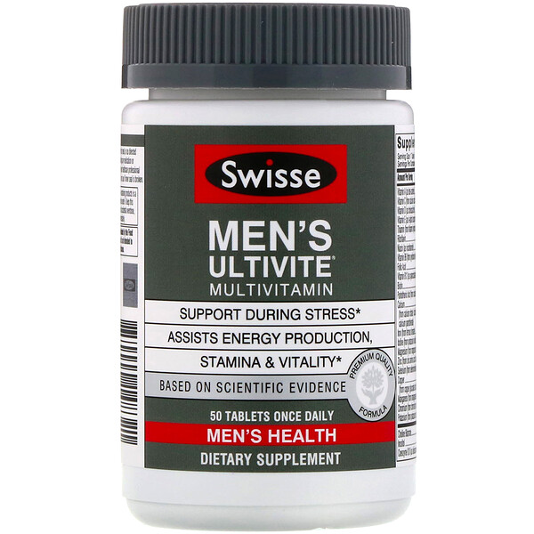 Multivitamines Men's Ultivite, 50 comprimés