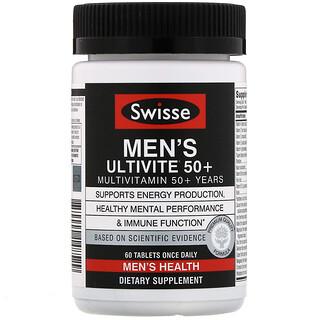 Swisse, Men's Ultivite 50+ Multivitamin, 60 Tablets