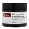 Swisse, Skincare, Matcha Tea Clarifying Clay Mask, 2.47 oz (70 g)