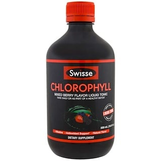 Swisse, Ultiboost Chlorophyll, Mixed Berry, 16.9 fl oz (500 ml)