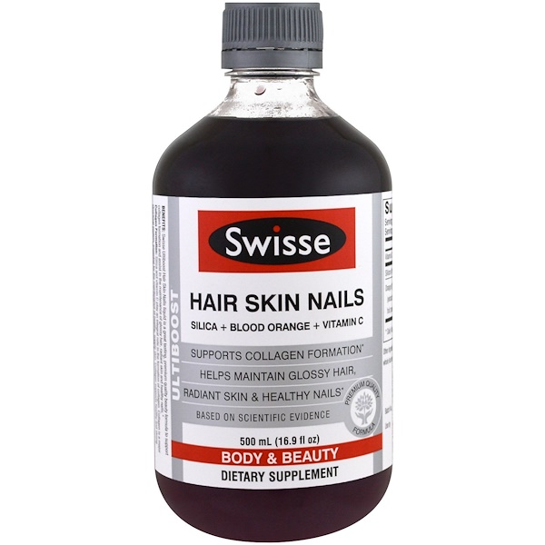 Swisse, Ultiboost, Hair Skin Nails, 16.9 fl oz (500 ml) (Discontinued Item)