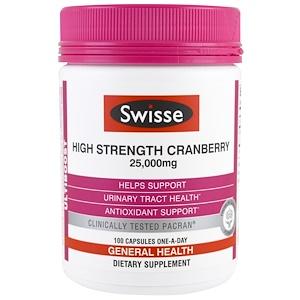 Свисс, Ultiboost, High Strength Cranberry, 25,000 mg, 100 Capsules отзывы покупателей