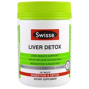 Свисс, Ultiboost, Liver Detox, 180 Tablets отзывы
