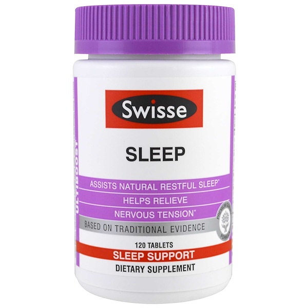 Swisse, Ultiboost, Sleep, 120 Tablets (Discontinued Item)