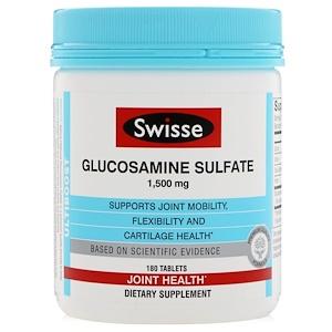 Свисс, Ultiboost, Glucosamine Sulfate, 1,500 mg, 180 Tablets отзывы