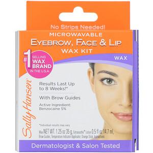 Sally Hansen, Eyebrow, Face & Lip Wax Kit, 1 Kit отзывы покупателей