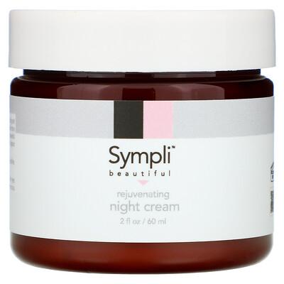 Sympli Beautiful Омолаживающий ночной крем, 60 мл (2 жидк. унции)