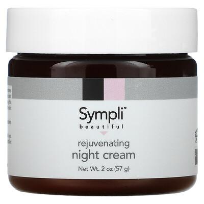 Sympli Beautiful Омолаживающий ночной крем, 60мл (2жидк.унции)