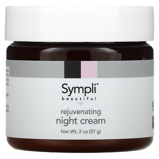 Sympli Beautiful, Омолаживающий ночной крем, 60мл (2жидк.унции)
