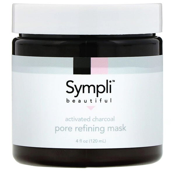 Activated Charcoal Pore Refining Mask, 4 fl oz (120 ml)