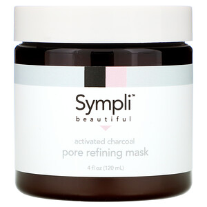 Sympli Beautiful, Activated Charcoal Pore Refining Mask, 4 fl oz (120 ml) отзывы покупателей