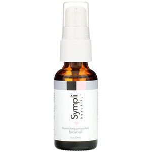Sympli Beautiful, Illuminating Antioxidant Facial Oil, 1 fl oz (30 ml) отзывы