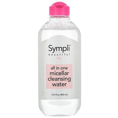 Купить Sympli Beautiful универсальная мицеллярная очищающая вода, 400мл (13, 5жидк.унции)