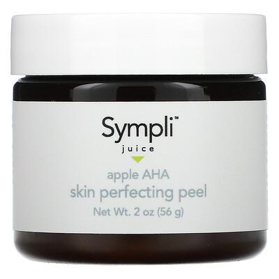 Sympli Beautiful Juice, пилинг для улучшения состояния кожи с яблочным соком и АГК, 56г (2унции)