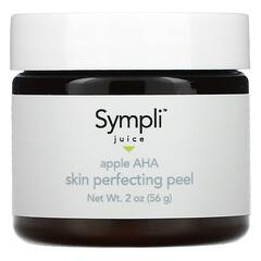 Sympli Beautiful, Juice، مقشر مثالي للبشرة بحمض ألفا هيدروكسي والتفاح، 2 أونصة (56 جم)