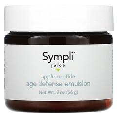 Sympli Beautiful, Juice, антивозрастная эмульсия с яблочным соком и пептидами, 56г (2унции)