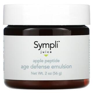 Sympli Beautiful, Juice, Apple Peptide Age Defense Emulsion, 2 oz (56 g)
