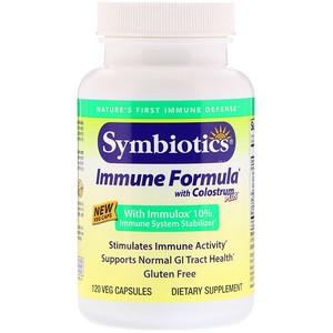 Симболик, Immune Formula with Colostrum Plus, 120 Veg Capsules отзывы