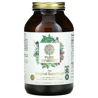 Pure Synergy, The Original Superfood, 270 Capsules
