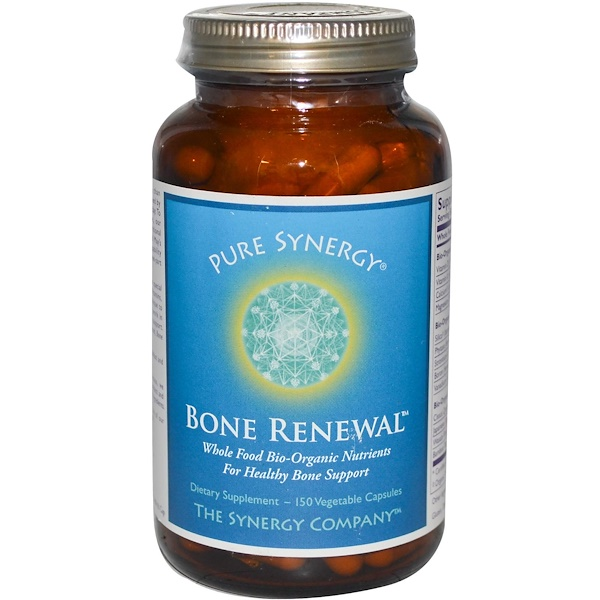 The Synergy Company, Bone Renewal, 150 cápsulas vegetarianas