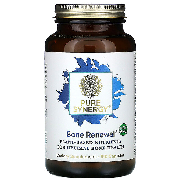 Pure Synergy, Bone Renewal, 150 Capsules