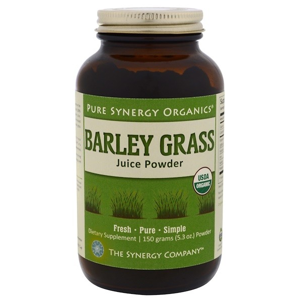 The Synergy Company, Barley Grass Juice Powder, 5.3 oz (150 g)