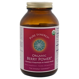 The Synergy Company, Organic Berry Power, 8 oz (225 g)