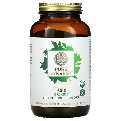 Купить Pure Synergy Organic Kale Freeze Dried Powder, 2.3 oz (65 g)