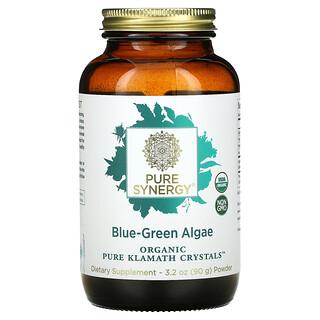 Pure Synergy, Organic Pure Klamath Crystals, Blue-Green Algae, 3.2 oz ( 90 g)