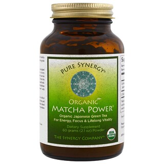 The Synergy Company, Organic Matcha Power, 2.1 oz (60 g)