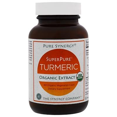 Купить Organic SuperPure Turmeric Extract, 60 Organic Vegetarian Caps