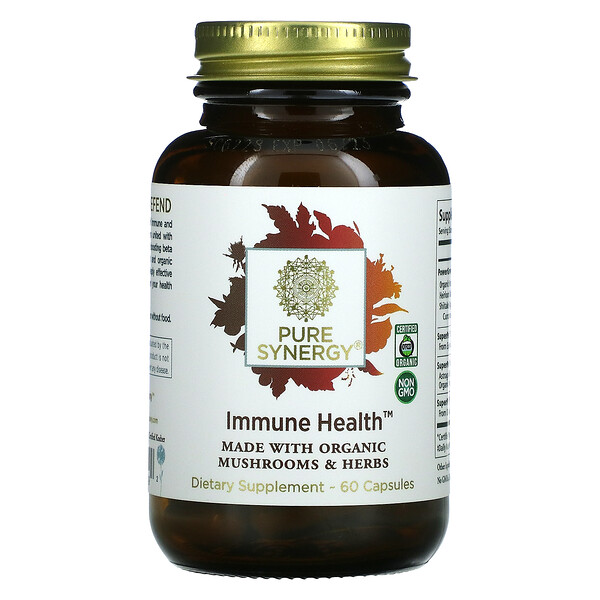 Pure Synergy, Immune Health, 60 Capsules