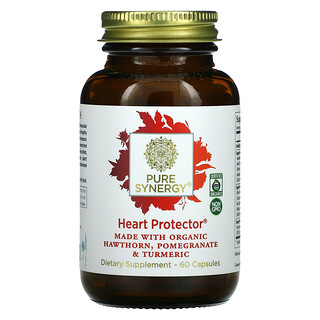 Pure Synergy, Heart Protector, 60 Capsules