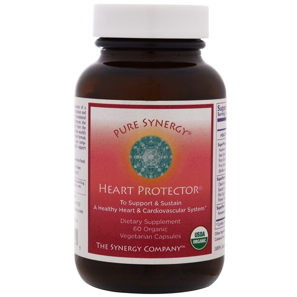 Pure Synergy, Organic Heart Protector, 60 Veggie Caps (Discontinued Item)
