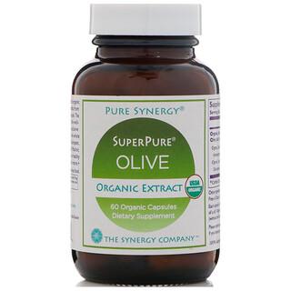 The Synergy Company, SuperPure Extrato de Oliveira, 60 cápsulas orgânicas