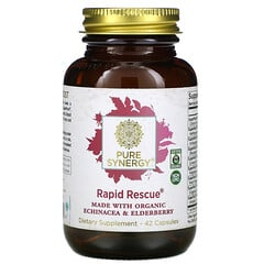 Pure Synergy, Rapid Rescue® 膠囊,42 粒裝