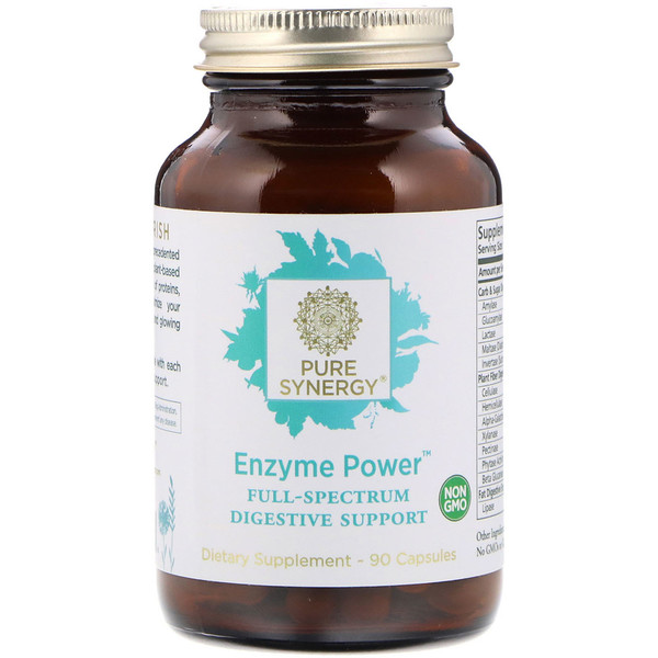 Enzyme Power, Full-Spectrum Digestive Support, 90 Capsules