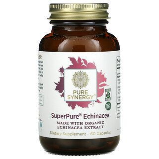 Pure Synergy, SuperPure Echinacea, 60 Capsules