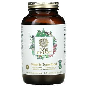 Pure Synergy, Organic Superfood Powder, 6.3 oz ( 180 g)