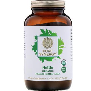 Pure Synergy, Organic Freeze-Dried Leaf Powder, Nettle, 2.3 oz (65 g)