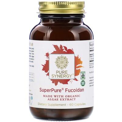 Pure Synergy SuperPure Fucoidan, 60 Capsules