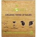 Sky Organics, Organic Tinted Lip Balms Set, 4 Pack, .15 oz (4.25 g) Each